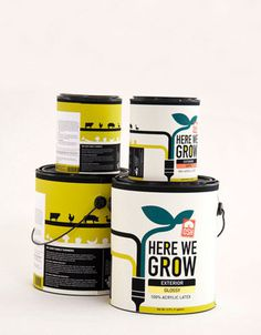 Student Spotlight : Here We Grow(OSH) - The Dieline: The World's #1 Package Design Website -