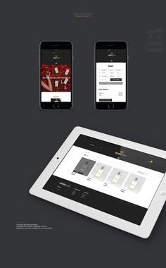 Gothicscent - Website Responsive by Orimat #website #web #design #ui #ux #interface #designbyorimat #perfume #responsive #ecommerce