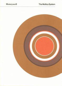Honeywell: The Multics System Brochure, 1975 | Colorcubic #minimal