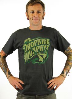 Dropkick Murphys T-shirt #shirt #design #graphic #typography