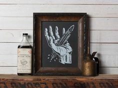 art, design, illustration, americana, prin,t screen print, hand, feather