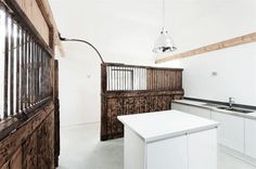 Old Horse Stables Become a Modern Home with Character Photo