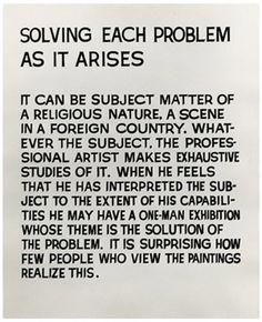 X-TRA #text #baldessari #conceptual #john #art