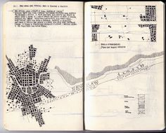 la città lineare/centrata : fabioalessandrofusco.com #drawings #urbanism #plans
