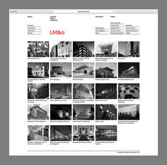 LM&a by Charley Massiera #web design #website