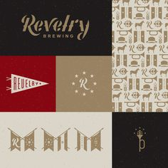 Revelry brewing charleston #simple #fun #graphic #clean