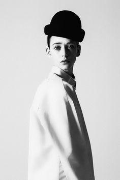Louise O'Neill in Rewind 06201302231 #revs #black #federico #fashion #&white #magazine #cabrera