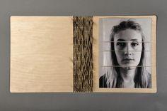 Visual Emotion - Alexandra Habermehl Portfolio #cover #wood #book