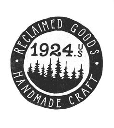 oh yes! Head on over to 1924 for some goodies to prep for this coming season! Menswear, Handcraft, Leathers, Antiques, everyone is welcome, #mark #logo #blackwhite #trees