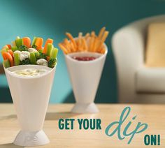 Cone and Dipping Cup for French Fries #cone #french #dipping #fries #cup