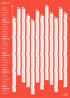 Graphic Safari: 2011_50x70 #2011 #calendar #design #graphic #latigre #poster