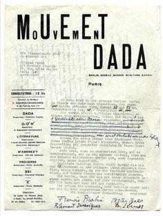 DADA-07.jpg (863×1141) #paris #dadaism #dada #typography