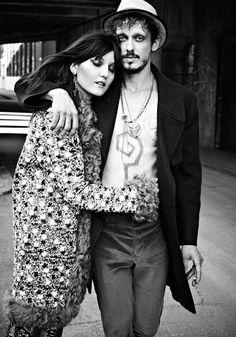 Irina Lazareanu by Max Abadian for Dress to Kill Magazine #model #girl #photo #photography #fashion