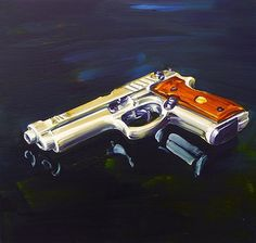 Chimes&Rhymes | innovative design and new techniques in visual artistry #gun #painting