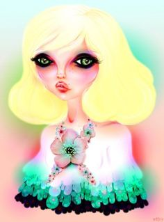 Tansy Myer ::: Art + Illustration + Design #girl #illustration #art #color #betty #tansy