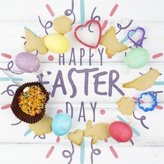 Happy easter day Free Psd. See more inspiration related to Flower, Mockup, Heart, Template, Bird, Butterfly, Typography, Spring, Celebration, Happy, Font, Holiday, Mock up, Easter, Religion, Rabbit, Egg, Calligraphy, Lettering, Cookie, Traditional, View, Up, Day, Top, Top view, Biscuit, Cultural, Tradition, Sprinkles, Mock, Mold, Seasonal and Paschal on Freepik.