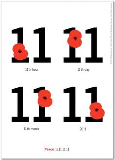 'iSteve tribute' #2011 #armistice #11 #day #peace #poppy