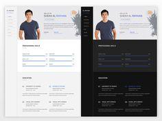 Swift Resume - Free Personal CV/Resume Template