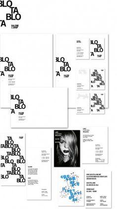 PORTFOLIO OF MARCEL FLEISCHMANN #blackwhite #branding #minim #identity #typography