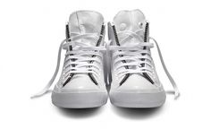 Schott NYC x Converse Chuck Taylor All Star White Leather Jacket | Hypebeast