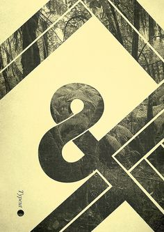 Poster/ cut the space #ampersand #poster