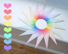 Origami modular star #geometry