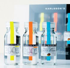 karlsson's vodka #packaging #glass #vodka #tube #vial