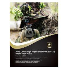 U.S. Army Camouflage Presentation Folder #army #camouflage #gun #presentation #military #folder