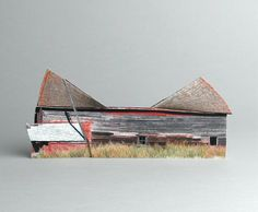 brokenhouses-6 #sculpture #house #art #broken #miniature