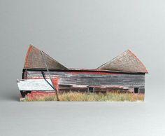 brokenhouses-6 #sculpture #house #art #broken #miniature