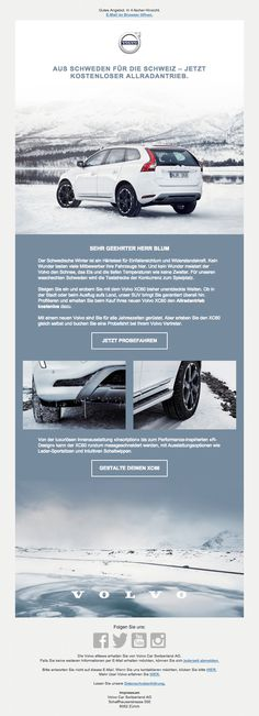 Volvo - Xc60 introduction email