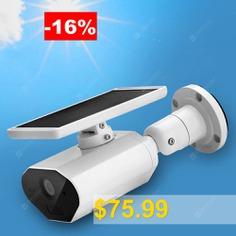 Bilikay #L4 #- #F #- #M2 #Solar #Outdoor #Wire-free #1080P #Low #Power #Camera #- #MILK #WHITE