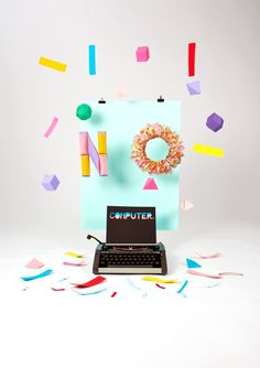 Computer / No Computer on Behance #handmade