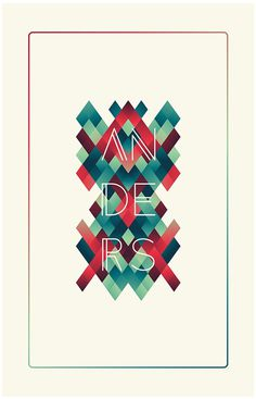Anders (Free Font) on Behance #font #anders #free #behance #download #typography