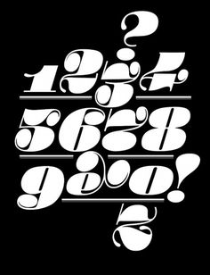 things to look at #herb lubalin numerals