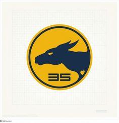 Kangaroo logo #racers #team #biennial #resinism #kangaroo #logo #desert
