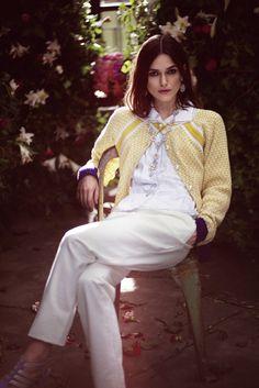 Keira Knightley by Emily Hope for Rika Magazine #model #girl #photography #fashion #style