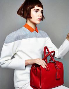 Anja Cihoric for Madame Figaro #fashion #model #photography #girl