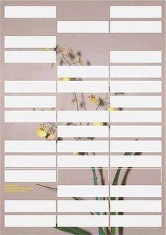 GraphicHug™ – Everybody Needs a Hug » Mia & Jem #modern #design #graphic #poster #flower