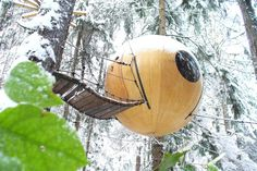 Free Spirit Spheres, Rainforest Of Vancouver Island, Canada #treehouse