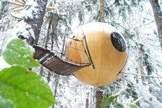 Free Spirit Spheres, Rainforest Of Vancouver Island, Canada #treehouse