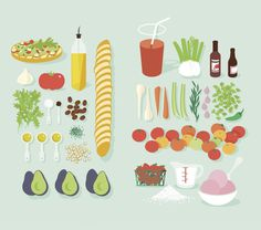 Illustration by Ben Wiseman for TIME #illustration #recipe