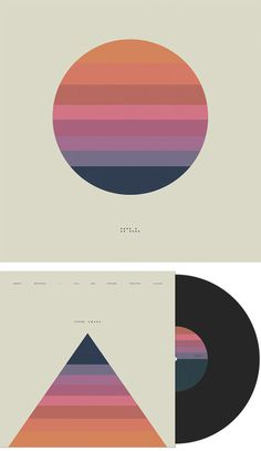 Black Vinyl Front #iso50 #tycho