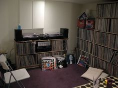 SolidState_Sheffield | Flickr - Photo Sharing! #interior #vinyl #records #room