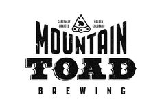 Mountain Toad Brewing #beer #branding #identity #logo #typography