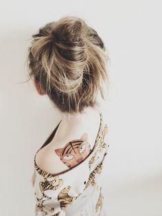 Mini Rodini Tattoo on Kenziepoo #kids #tattoo #tiger #children