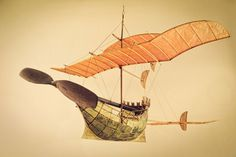 The ships that sail through the clouds | A R T N A U #wood #ship #mobile #paper #toy