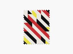 Germany #stamp #graphic #maan #geometric #illustration #minimal #2014 #worldcup #brazil