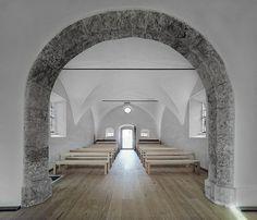 historic austrian chapel gets revitalized by HPSA