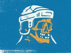 #Dustin Borowski #skull #handdrawn